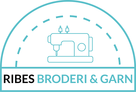 Ribes Broderi & Garn Retina Logo