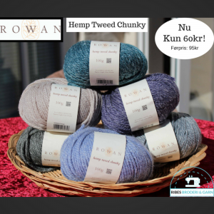 Rowan Hemp Tweed Chunky (Før: 95,- Nu: 50,- pr. 100g)