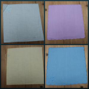 Lommetørklæder Med Hulsøm