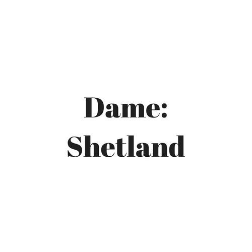 Dame: Shetland